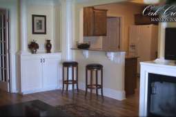 Carriage House Living Room and Kitchen View
