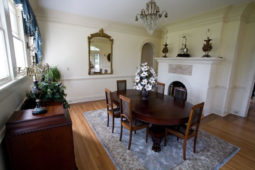 Dining room area