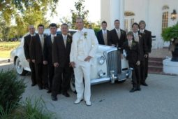 Group image of the groomsmen